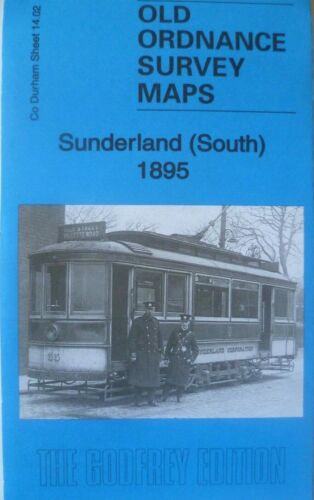 Old Ordnance Survey Maps Sunderland South  Co Durham 1895  Godfrey Edition New