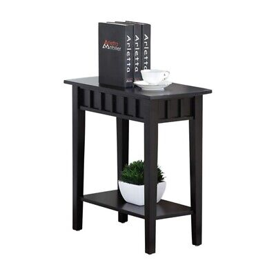 NEW Small End Table Nightstand Chair Side Narrow Accent ...