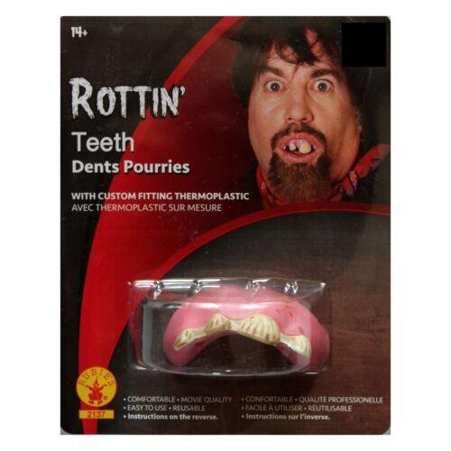 1 RUBIE/'S* Set TEETH Custom Fitting RE-USABLE Thermoplastic HALLOWEEN COSTUME