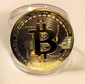 Image Is Loading Gold BTC Coin Commemorative Coins Physical Bitcoins Casascius