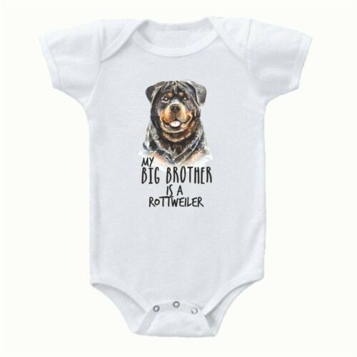 bb004 dont mess my big brother is a rottweiler babygrower vest