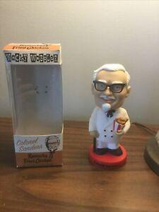 Wacky Wobbler Colonel Sanders KFC Kentucky Fried Chicken Bobble Head