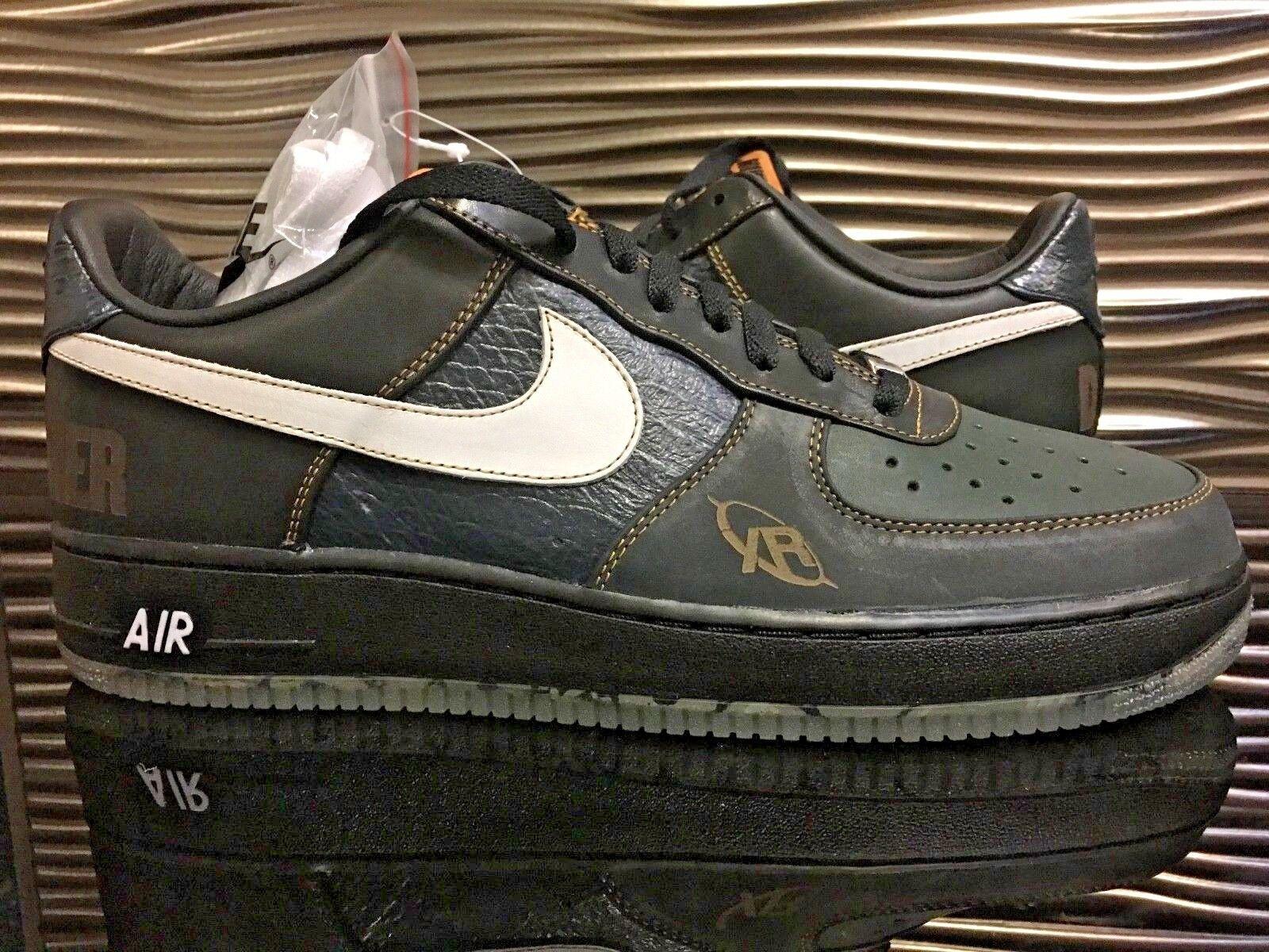 Air Force 1 Low Premium DJ Premier DS Men's Size 11.5 Black Supreme