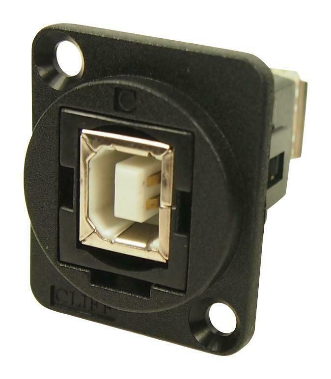 USB2 ADAPTER TYPE B-TYPE B FEMALE - CP30203N