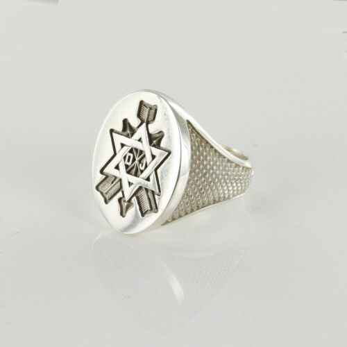 Secret Monitor Ring Solid Silver