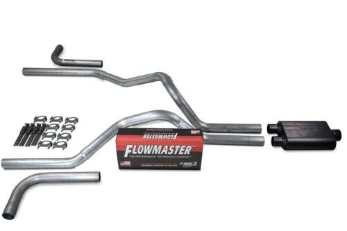 "Dodge Ram 1500 09-18 2.5/"" Dual Exhaust Kits Flowmaster 40 Series Side Exit"