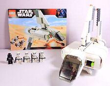 Lego Star Wars Set 7659 Imperial Landing Craft Tatooine Stormtroopers TIE Pilot