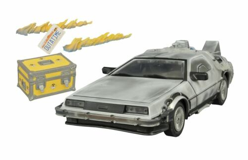 Back to the Future Iced Time Machine Collectors Vehicle Set