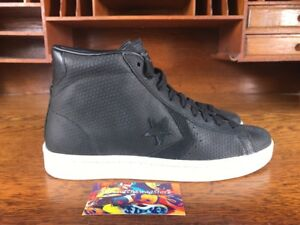 9f19db9e083 Converse PL 76 Mid Mens High Top Shoes Black White 155647C NEW Multi ...