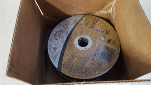 """Lot of 25 GRAINGER APPROVED Abrasive Cut-Off Wheel Type 41 63954 6/"""" dia"""