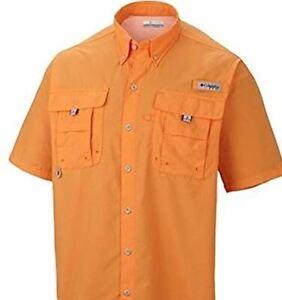 Columbia-PFG-Bahama-ll-Mens-XL-Short-Sleeve-Vented-Fishing-Shirt-1X-New