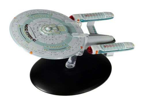 USS ncc-1701-c Star Trek metal nave espacial modelo Eaglemoss alemán #46