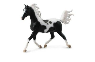 Collecta 89462 Half Arabian Stallion Pinto Deluxe 1:12 Gift Box 23 Cm Pferdewelt Easy To Lubricate Animals & Dinosaurs