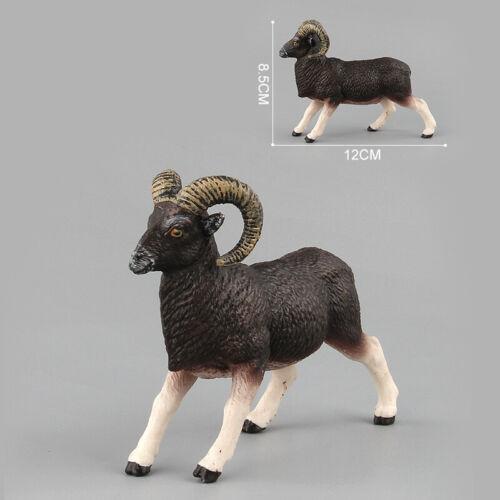 Africa Wild Animal Zebra Antelope Argali Gemsbok Model Figure Collector Toy Gift