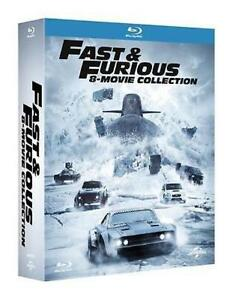 Blu-Ray-FAST-AND-FURIOUS-Collection-1-8-Box-8-Dischi-Blu-Ray-2017-NUOVO