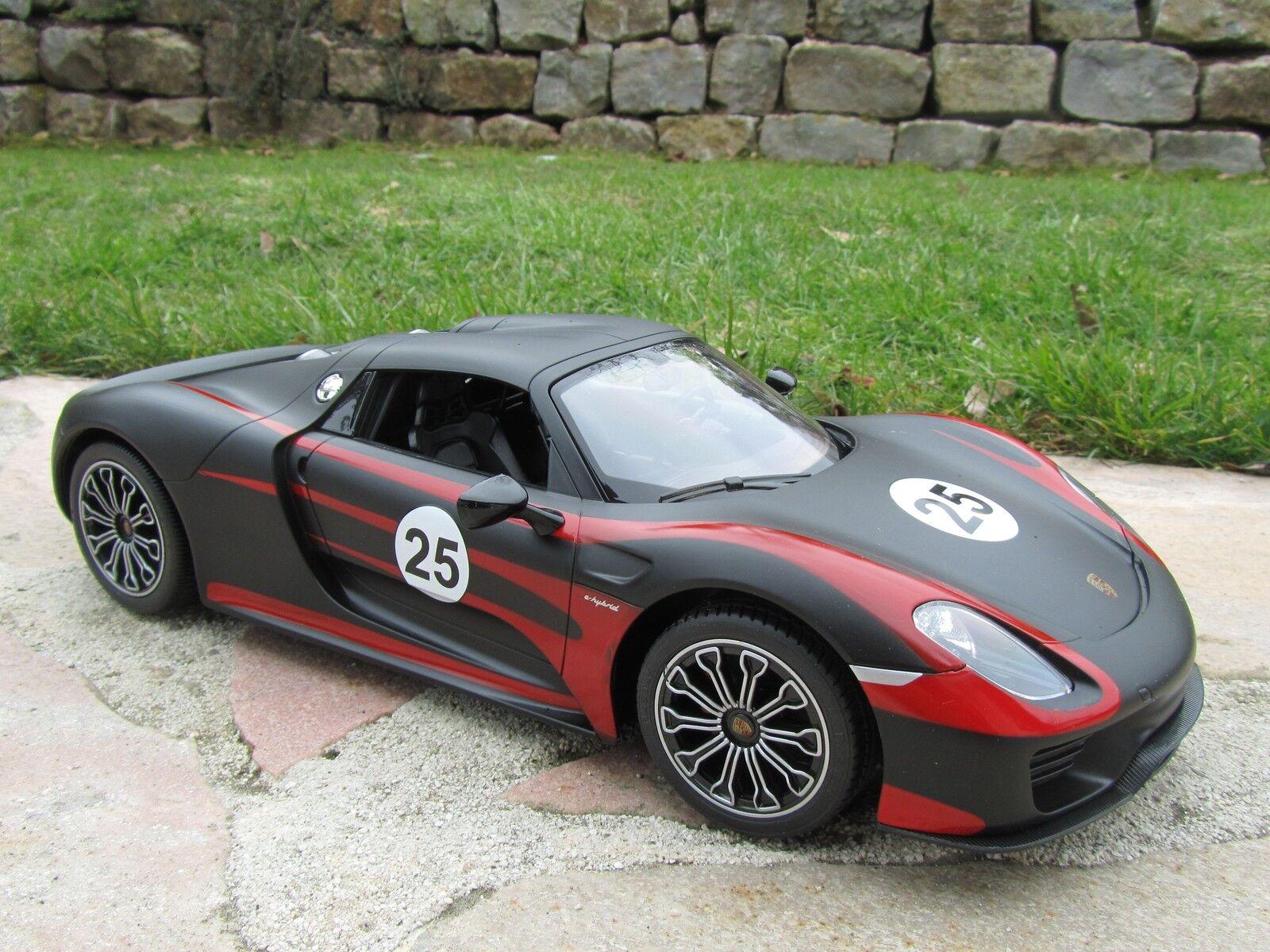 RC Porsche 918 Spyder Race 27Mhz Lizenz Modell 34cm 1 14  Top Qualität  404581