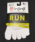 Injinji Performance Lightweight Series Running Toe socks White CoolMax Run Socks