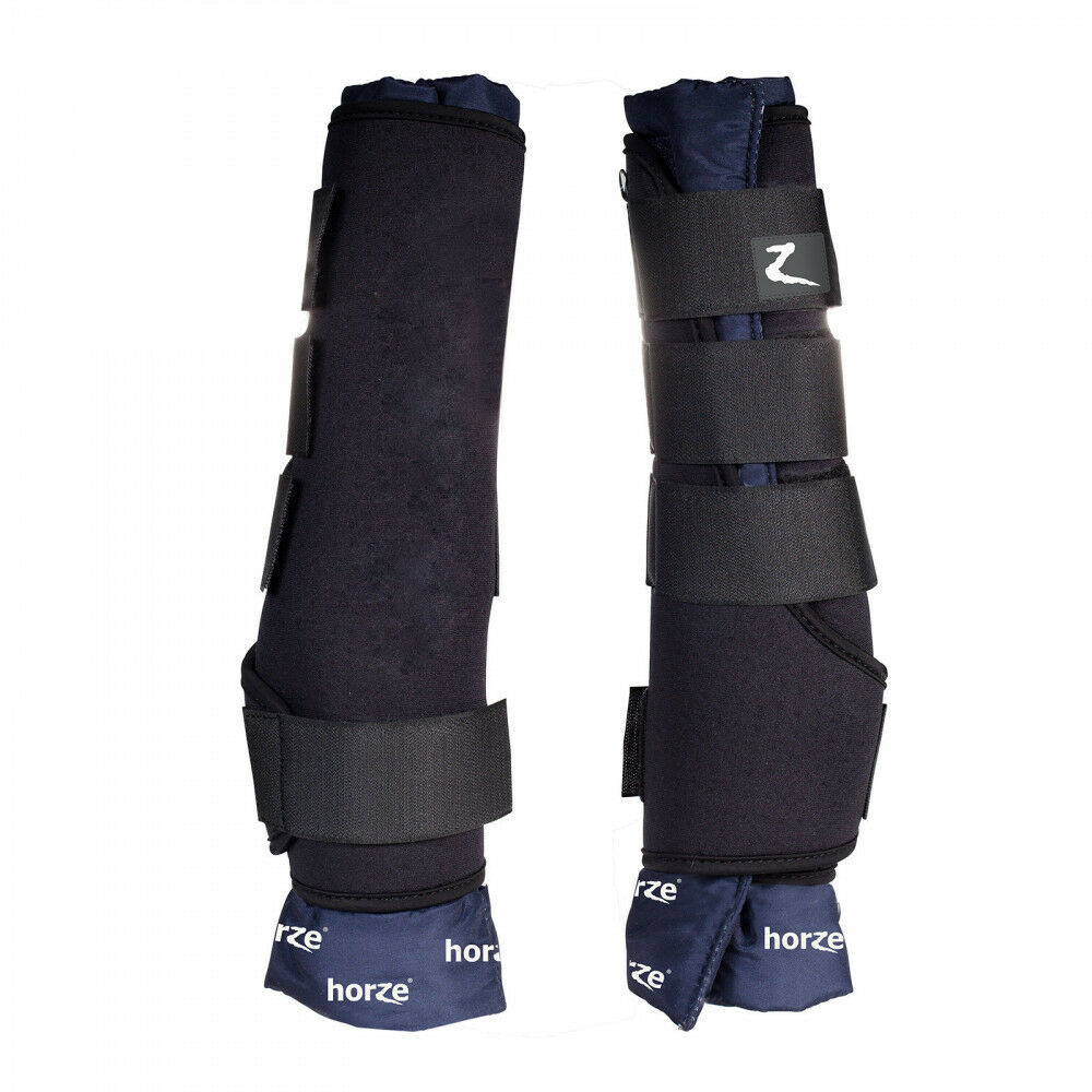 Horze Neoprene Stable Boots Support Horse's Soft Tissue after Exercise