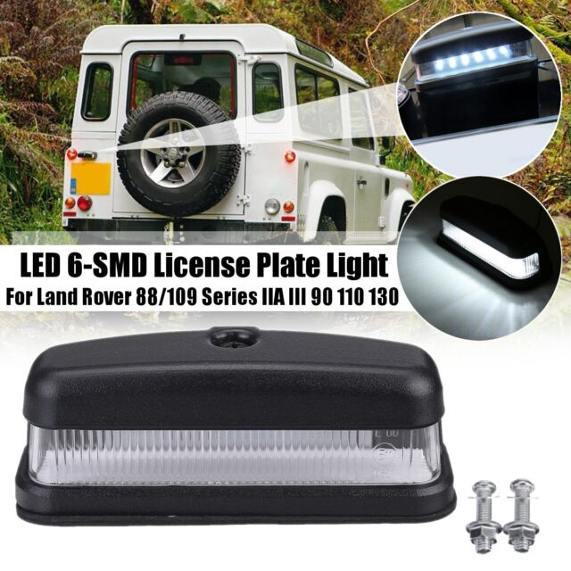 Led License Plate Light For Land Rover 88  109 Series 2a 3