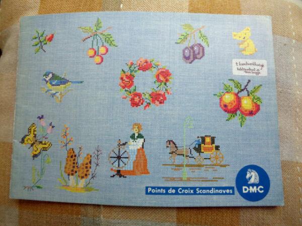 Points De Croix Scandinaves Dmc 8131 Scandinavian Cross Stitch Design Ideas For Sale Online Ebay