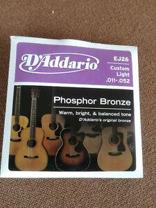 MUTA-Set-corde-per-chitarra-acustica-DADDARIO-PHOSPHOR-Bronze-EJ-26