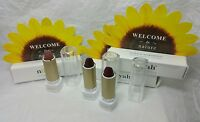 Lot Of 3 Noyah Natural Lipstick Mini Deluxe Sample Sz Smoke & Currant News Ipsy
