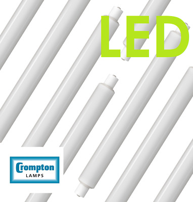 5631 Crompton 6w 284mm Opal LED Strip Light S15 Cap 2700k warm white