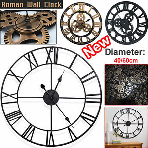 40-60CM-EXTRA-LARGE-ROMAN-NUMERALS-SKELETON-WALL-CLOCK-BIG-GIANT-OPEN-FACE-ROUND