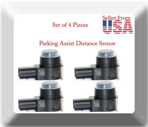 Chrysler Dodge Jeep Ram Set of 4 Kits Parking Assist Distance Sensor Fits