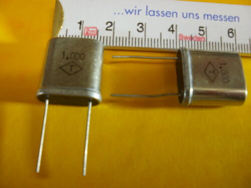 ::::::::::::::: Quarz 1,000 MHz HC-51//U 1 Stück