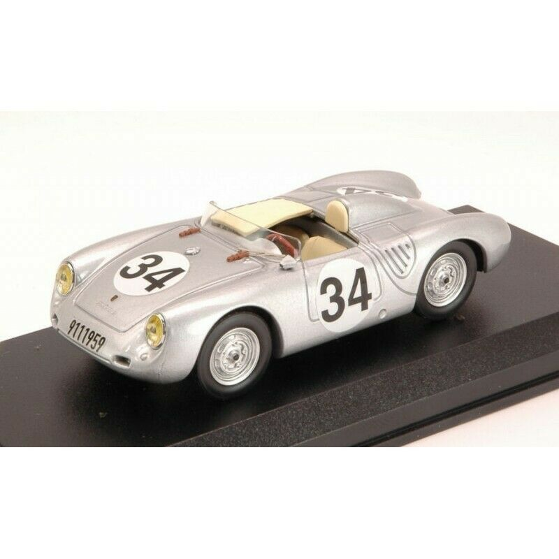 BEST MODEL BT9592 PORSCHE 550 RS N.34 DNF LM 1957 STOREZ-CRAWFORD 1 43 DIE CAST