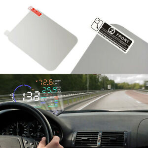 Universal-Special-HUD-Head-Up-Display-Reflective-Film-Clear-Car-Accessories-New