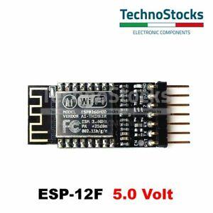 ESP-12-5V-ESP8266-con-Adattatore-Breadboard-ADP-12-5V-Adapter-Converter-3-3V-5V