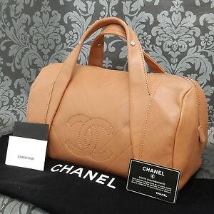 cf37148bfd7c Подъем на винтаж Chanel Mini Бостон коричневая кожаная сумка #1780 ...