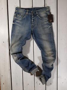 Collection New Jeans Straight L34 Stonewashed Gas da uomo W30 Superman Regular 65aUwq
