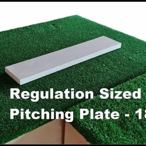8 Inch Portable Baseball Pitching Mound w// Modular Base Ages 12-15