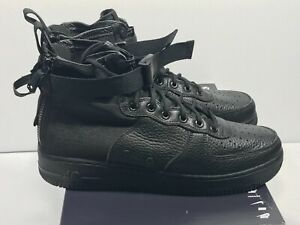 Details about Nike Men's SF Air Force 1 Mid Triple Black 917753 005 $160 Size 11
