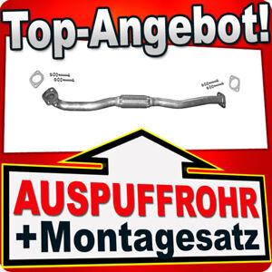 2.0 4WD 104KW Auspuff Abgasrohr Montagesatz Hosenrohr Kia Sportage 2.0