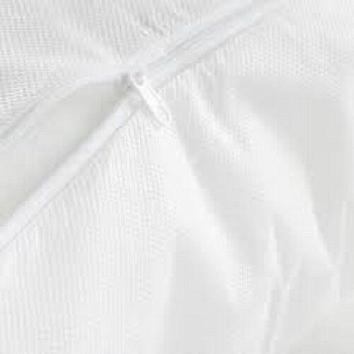 Zipped Polypropylene Duvet Protectors and 1 Pair Pillow Protectors