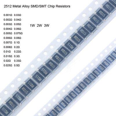 1206 Metal Alloy SMD//SMT Chip Resistors ±1/% Range 0.001 Ohm 0.04 Ohm~0.2 Ohm 1W