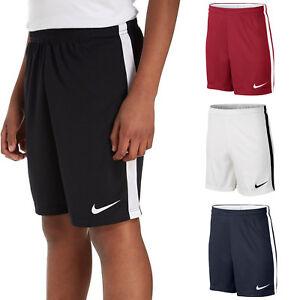 Détails sur Nike Short Garçon Sec Football Junior Pantalon Entraînement Course Kids S M L XL