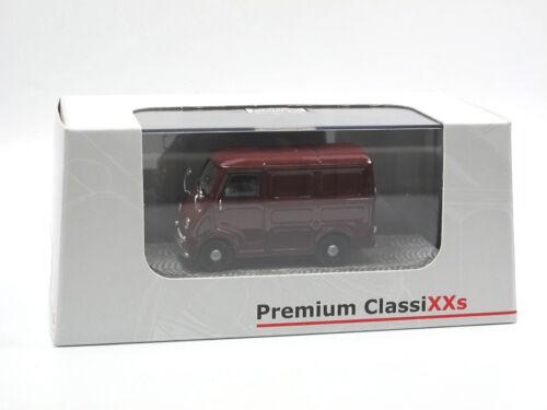 rot Goggo Goggomobil TL 250 Transporter 1//43 Premium Classixxs 11101