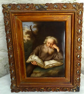 KPM-Antique-Porcelain-Plaque-by-R-Dittrich