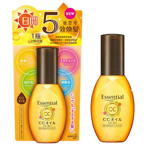 KAO-ESSENTIAL-Day-Care-CC-Oil-Cuticle-Care-Leave-On-Hair-Treatment-60ml-NEW