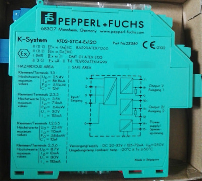 1 PCS NEW IN BOX Pepperl+Fuchs safety barrier KFD2-STC4-EX1.2O 231389