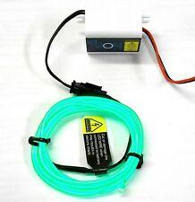 Lk-0029gn 1/10 o 1/8 CORPO SHELL COVER TRON LED Luce Filo Tubo Kit Set verde