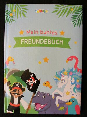 100% QualitäT Babauba Freundschaftsbuch Mein Buntes Freundebuch Neu 48 Seiten Professionelles Design