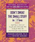 Don't Sweat the Small Stuff in Love by Richard Carlson (Paperback, 2000)