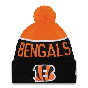 5eed9b52226 Cincinnati Bengals New Era NFL Official On-Field Sideline Pom Knit ...