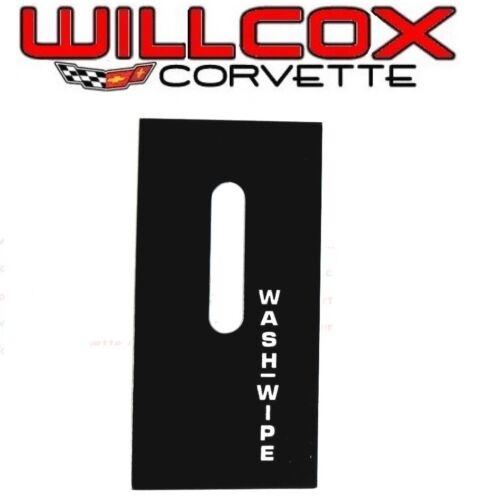 1978-1979 CORVETTE WINDSHIELD WIPER SWITCH DECAL